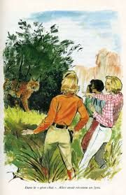 Bess George och Kitty på franska