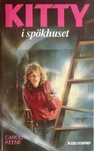 """""""Kitty i spökhuset"""" är en av de böcker som får ett nytt bokomslag."""