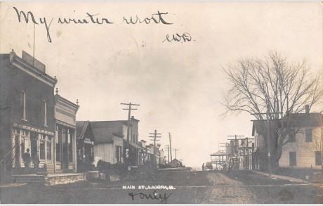Ladora, Iowa early 1900s