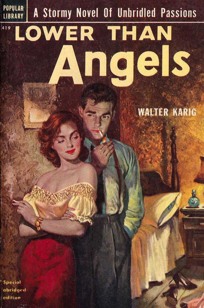 Omslaget till en av Walter Karigs böcker som han skrev i eget namn.