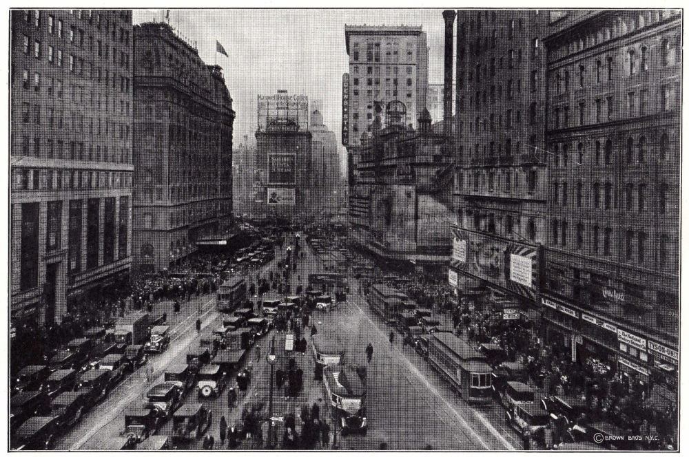 times square june 1927
