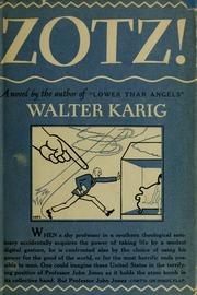 Bokomslaget till Zotz!