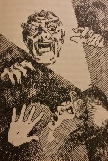 En av Eva Levéns illustrationer från boken.