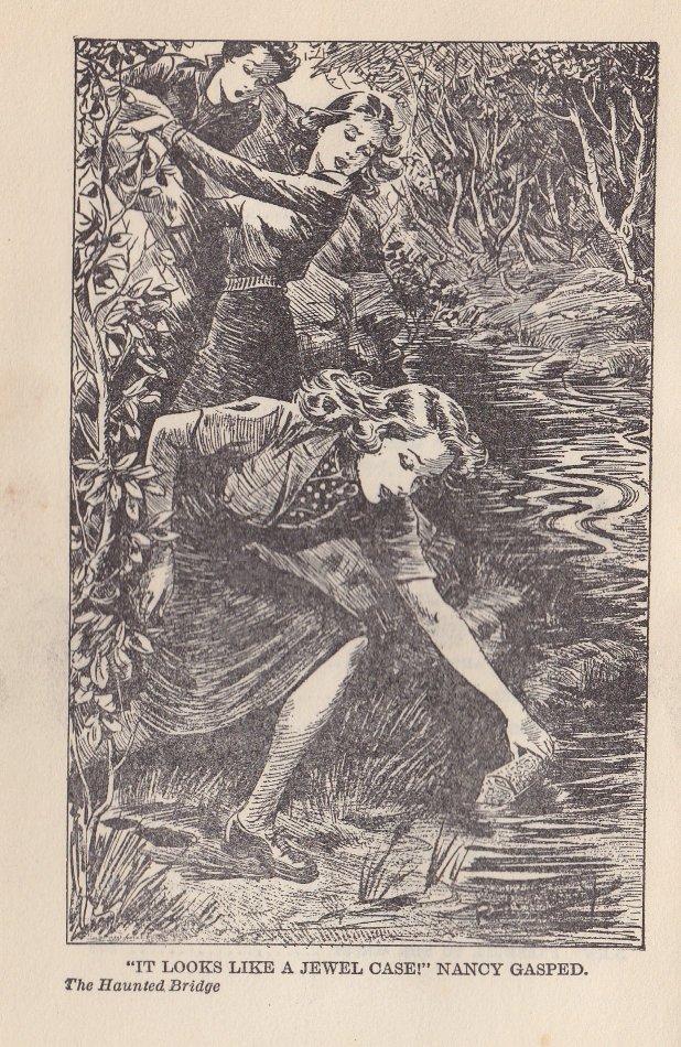Illustration från en amerikanska originalutgåvan.
