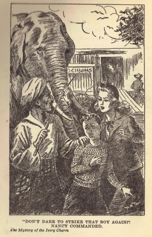 Illustration från den amerikanska utgåvan av boken.