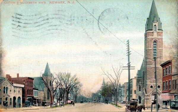 Newark late 1800