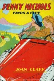 """Omslaget till """"Penny Nichols Finds a Clue"""" som skrevs av Mildred"""