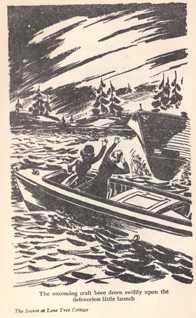 Illustration från dem amerikanska utgåvan av boken.