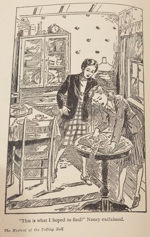 Illustration från den amerikanska originalutgåvan.