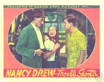 En skurk, Kitty (Nancy) och Ted.