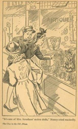 Illustration från den amerikanska versionen.