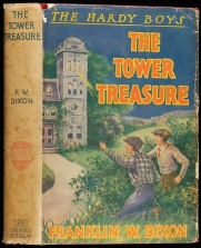 Originalomslaget till The tower treasure