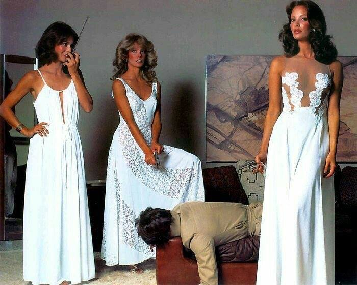 Charlies änglar - Kate Jackson, Farrah Fawcett och Jaclyn Smith