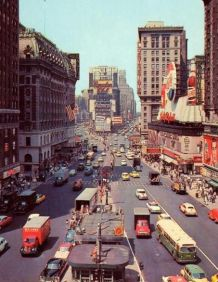New York under 50-talet.