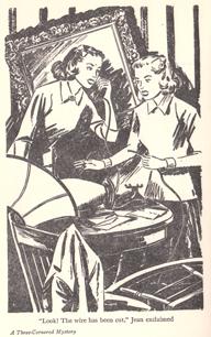 Three cornered mystery - illustration
