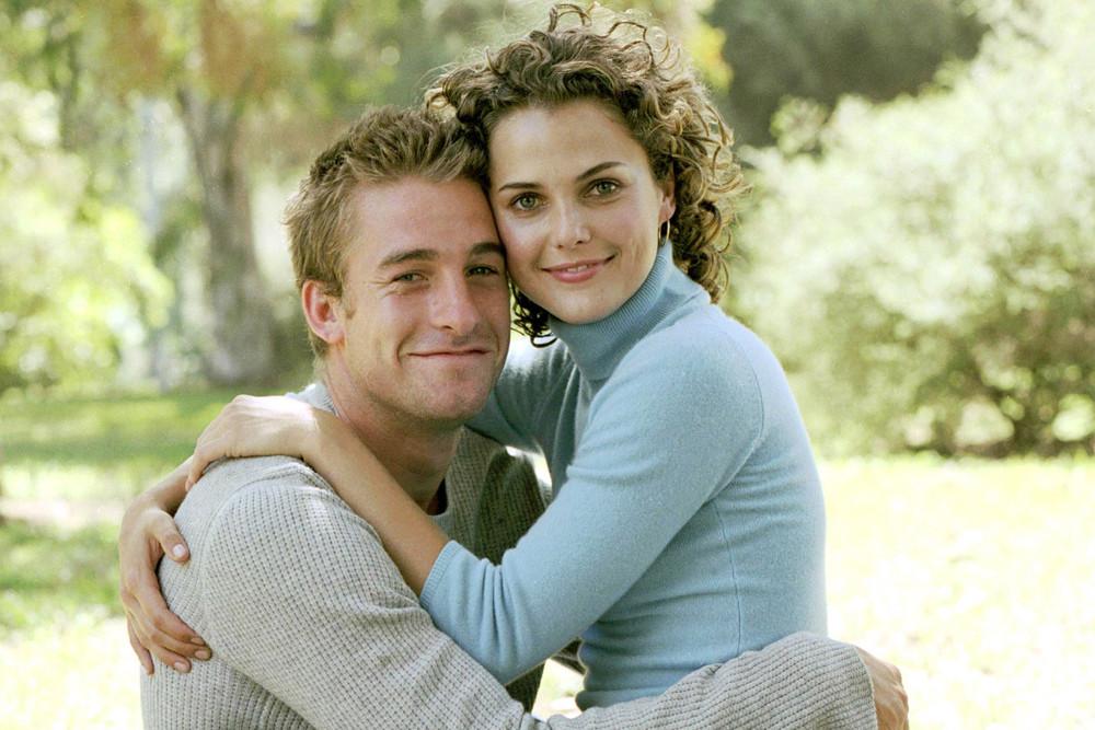 Scott Speedman och Keri Russell som spelade Ben och Felicity.