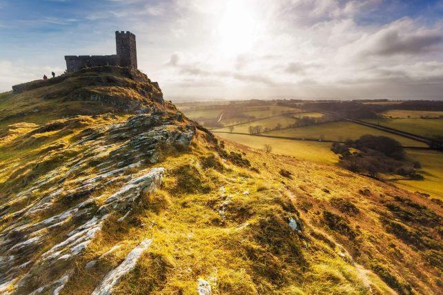 Dartmoor utsikt