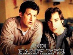 Colin Gray och Paul Popowich som Frank och Joe Hardy.