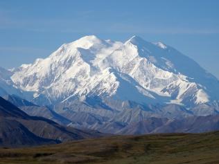 Denali med Mount McKinley