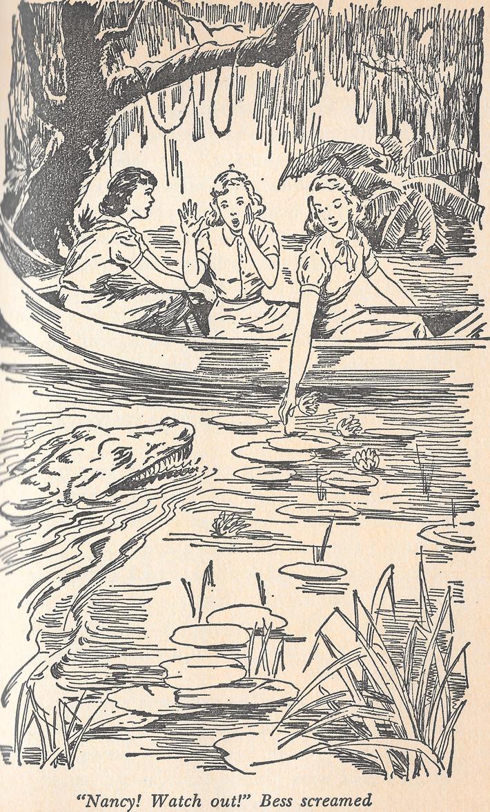 Haunted Showboat - illustration