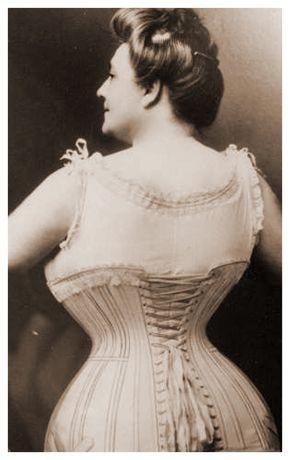 Korsettklädd dam II