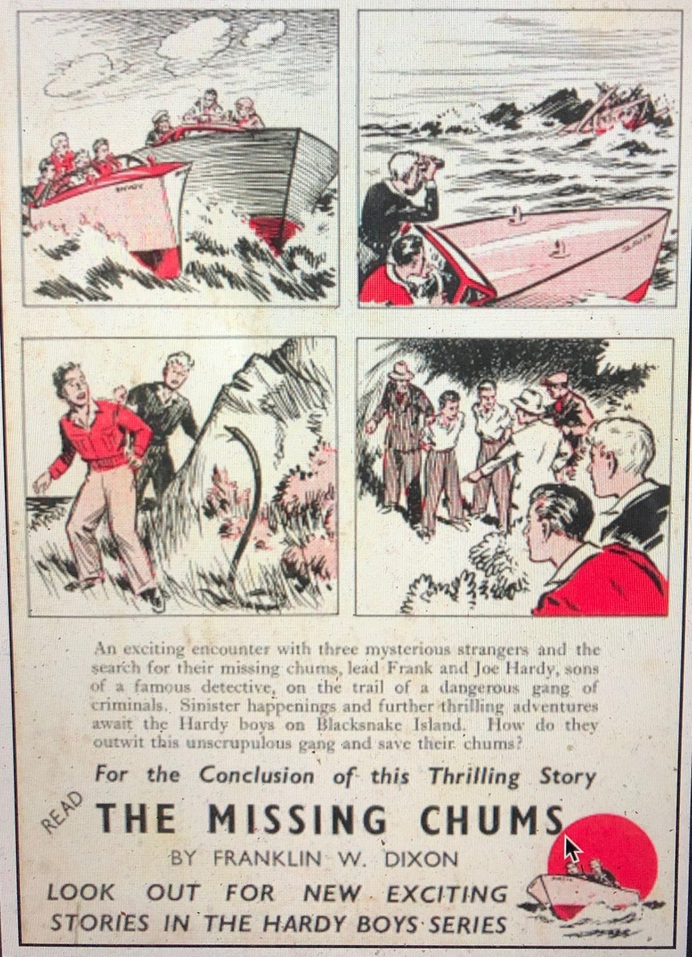 Read The missing chums
