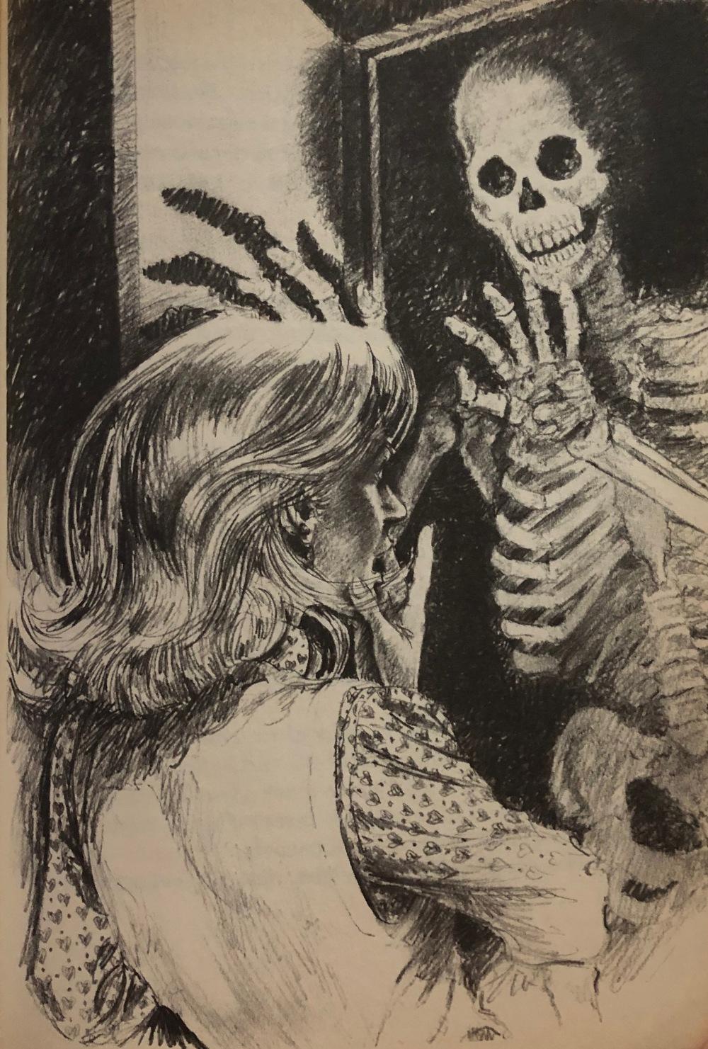The haunted Carousell - illustration